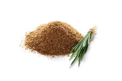 Heap of oat bran Stock Photo
