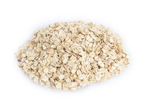 Heap of oat flackes Stock Photography