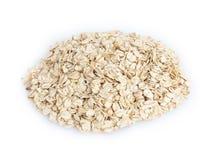 Heap of oat flackes Stock Photography