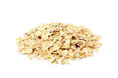 Heap of oat flakes. Stock Photography