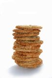 Heap Oats of cookies Stock Photos