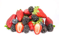 Free Heap Of Berries Isolated 2 Stock Photography - 30427812