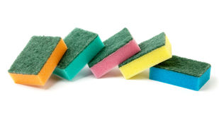 Heap Of Sponges Royalty Free Stock Photo
