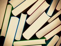Heap of old books in a hard cover Royalty Free Stock Images