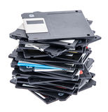 Heap of old Floppys Royalty Free Stock Photography