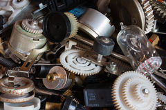 Heap of old parts Stock Images