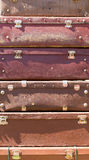 Heap of old suitcases Stock Photography