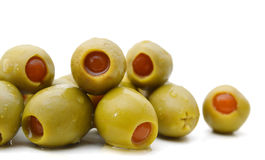 Heap of olive Royalty Free Stock Photography