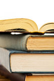 Heap of open books Royalty Free Stock Image