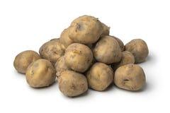 Heap of organic Opperdoezer potatoes Royalty Free Stock Image