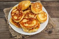 Heap of pancake Royalty Free Stock Photo