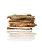 Heap of papers Royalty Free Stock Photography
