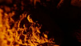 Heap of paprika and spices rotating. 4K UHD stock footage