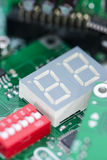 Heap of PCBs and electronic components Royalty Free Stock Images