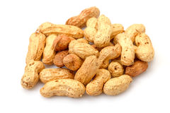Heap Peanuts Stock Images