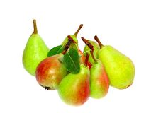 Heap of pear Royalty Free Stock Photos