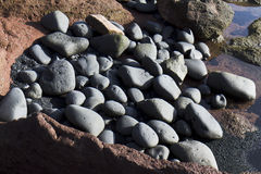 Heap of pebbles Royalty Free Stock Photography