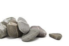 Heap of pebbles Stock Photo