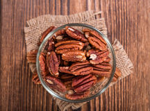 Heap of Pecan Nuts (selective focus) Royalty Free Stock Photo
