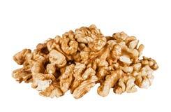 Heap of peeled walnuts Royalty Free Stock Photography