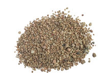Heap or pile of coarse sand Stock Images