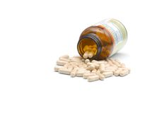 Heap of pills Royalty Free Stock Photography