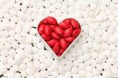 Heap of pills Stock Photos