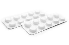 Heap of pills Stock Images