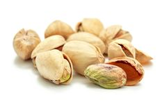 Heap of pistachio royalty free stock photography