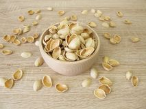 Pistachio nuts shells for crafting Royalty Free Stock Photo