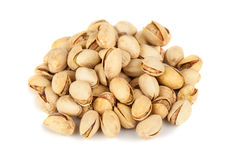Heap of pistachio nuts Stock Images