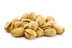 Heap of Pistachios isolated Royalty Free Stock Photo