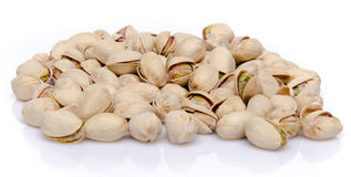 Heap of pistachios Stock Photos