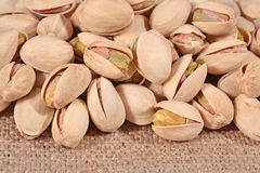 Heap of pistachios Royalty Free Stock Photos
