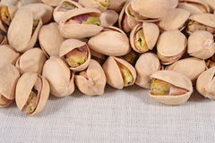 Heap of pistachios Royalty Free Stock Images