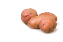 Heap of potato Stock Image