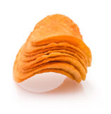 Heap of Potato Chips Royalty Free Stock Images