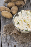 Heap of Potato Salad Royalty Free Stock Image