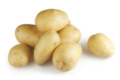 Heap of potatoes Stock Images