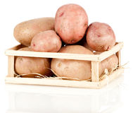 Heap of potatoes Stock Photos