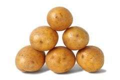 Heap of potatoes Royalty Free Stock Photos