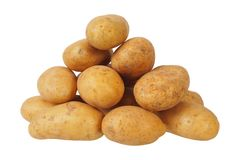 Heap Of Potatoes Royalty Free Stock Image