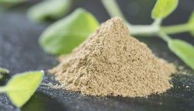 Heap of Powdered Sage royalty free stock image