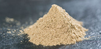 Heap of Powdered Sage stock images