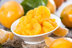 Heap of Preserved Tangerines Royalty Free Stock Image