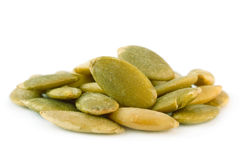 Heap pumpkin seed Royalty Free Stock Photos