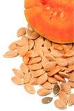 Heap pumpkin seeds Stock Photography