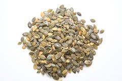 A heap of pumpkin seeds Stock Photography