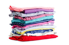 Heap of pure clothes Stock Photography