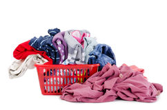 Heap of pure clothes Royalty Free Stock Photo